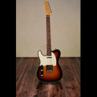 Left Handed Fender FSR '62 Reissue Telecaster CIJ In 3 tone sunburst With OHSC (Previously Owned)