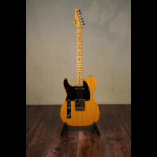 Left Handed Suhr Classic T In Transparent Butterscotch With Suhr Gig Bag (Brand New)