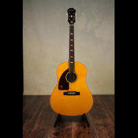 Left handed Epiphone Inspired By 1964 Texan Acoustic with OHSC