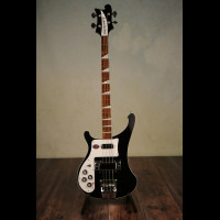Left Handed Rickenbacker 4003 Jetglo With Rickenbacker Hard Case (Brand New)