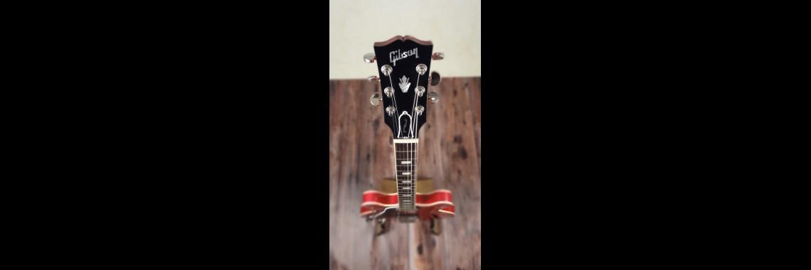2015 left handed Gibson Memphis Custom ES - 330