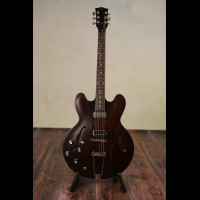Left Handed Limited Run Gibson ES 330 2018 In Satin Walnut With OHSC ( Brand New)
