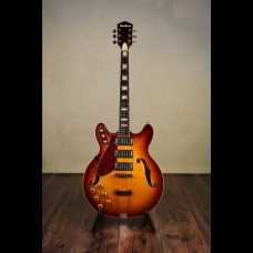 Left Handed Eastwood Airline H77 With OHSC (Used)