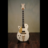 Left Handed 2016 Gretsch White Penguin With OHSC (Brand New)