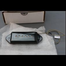 Lindy Fralin P90 Dog Ear Pickup Set In Black